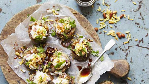 Anjum Anand's street-side potato cakes