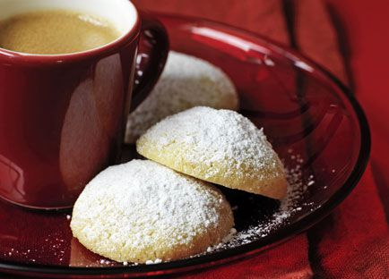 Powdered sugar biscuits