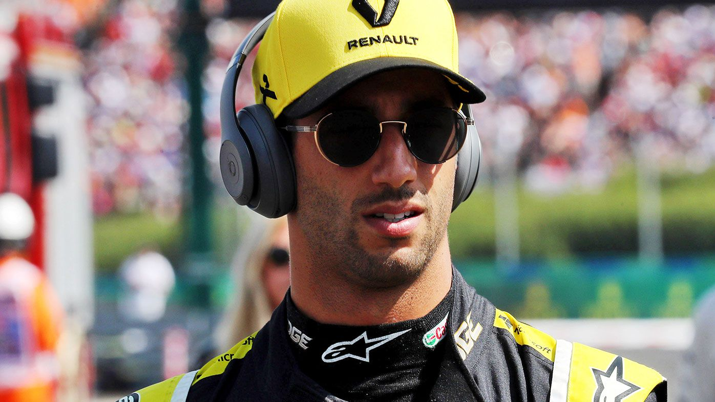 A frustrated Daniel Ricciardo finished 14th at the Hungarian Grand Prix.
