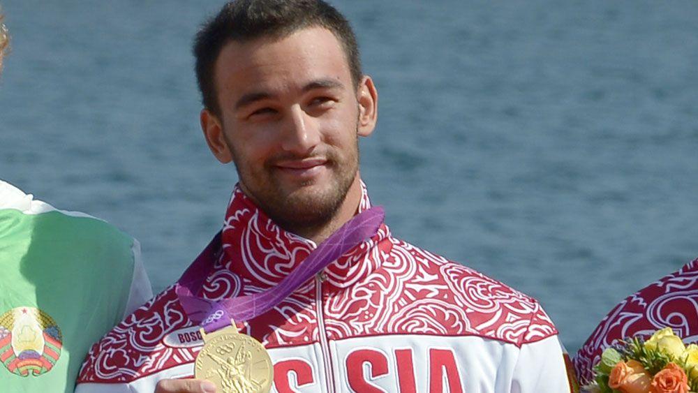 Alexander Dyachenko at the London Olympics. (AFP)