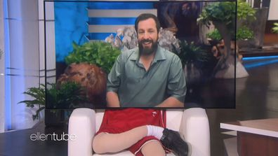 Adam Sandler on The Ellen DeGeneres Show