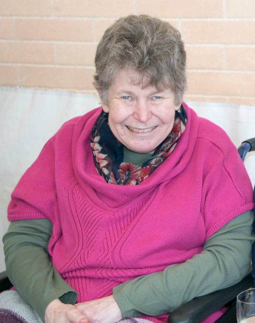 Helen Dansie, 67, died after her wheelchair rolled into a pond in Adelaide parklands in April  (AAP Image/ Supplied by SA Police)