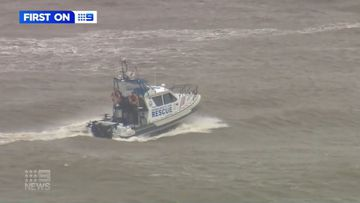 Stranded surfers rescued from waters just off Gold Coast