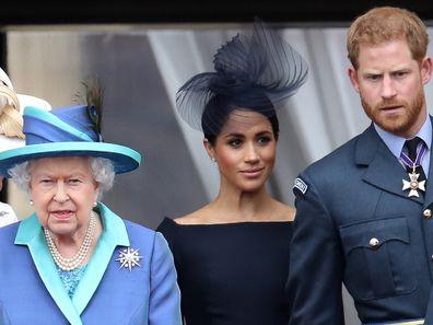 Harry and Meghan Queen's Jubilee