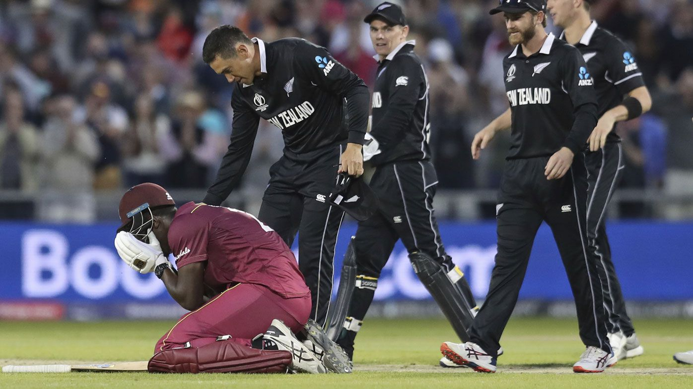 New Zealand beat West Indies in Cricket World Cup epic: Williamson, Brathwaite tons