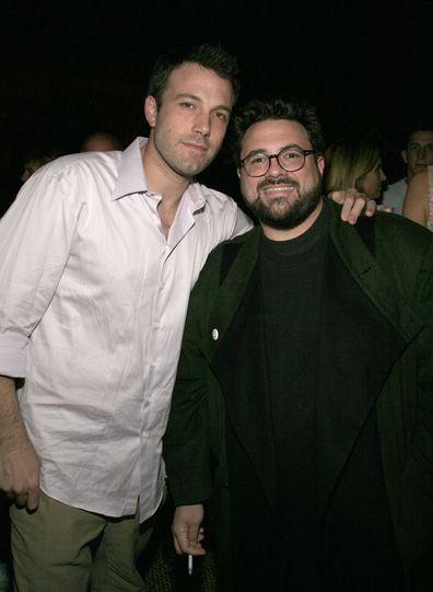 Ben Affleck and Kevin Smith during Some Odd Rubies West Coast Store Opening Hosted by Gran Centenario Tequila at Some Odd Rubies on Hillhurst in Los Angeles, California, United States. (Photo by Paul Redmond/WireImage)