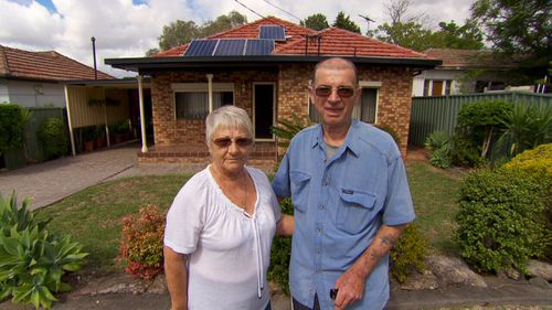 Retired couple Ian and Dunca have been writing to the council for 25 years about their neighbour's house.