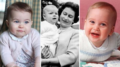 The cutest photos of the Royal Family as babies