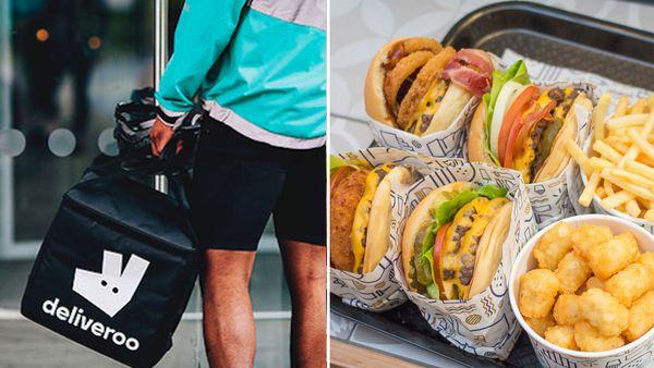 Deliveroo / Royal Stacks burgers