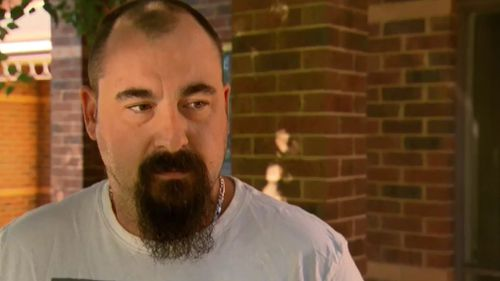 Neighbour Daniel McCreedy told 9NEWS following the incident. (9NEWS)