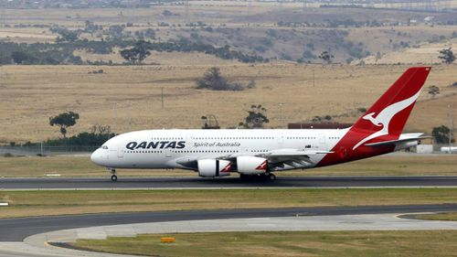 Qantas has denied suggestions that its flight path over Iraq is dangerous. (AAP)