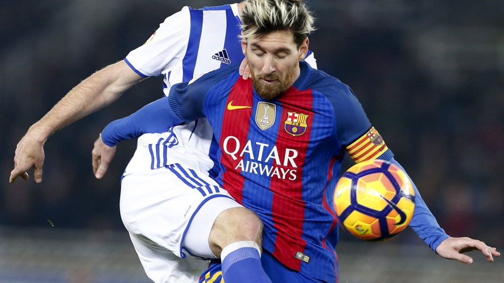 Lionel Messi and Barcelona have lost more ground to Real Madrid. (AAP)