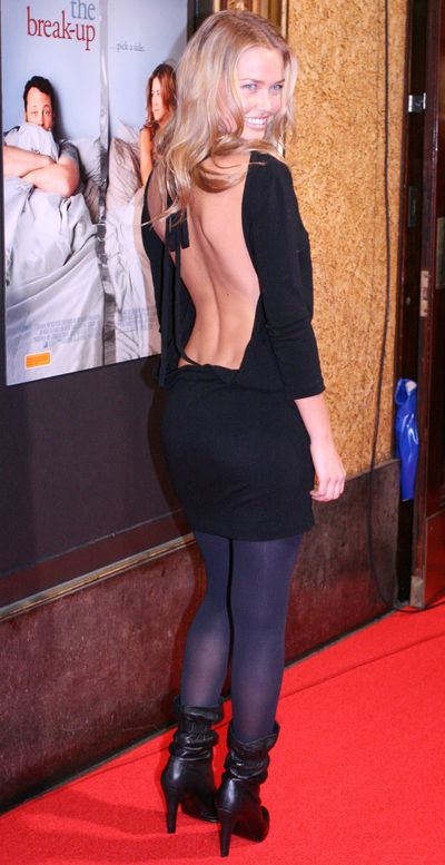 Lara Bingle at <em>The Break Up</em> premiere in Sydney, March, 2006