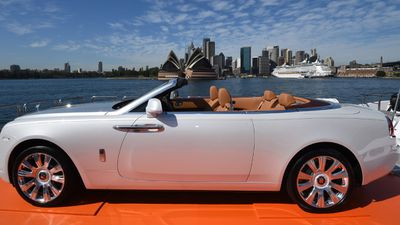 The view is priceless, but the car will cost you around $749,000. (AAP)