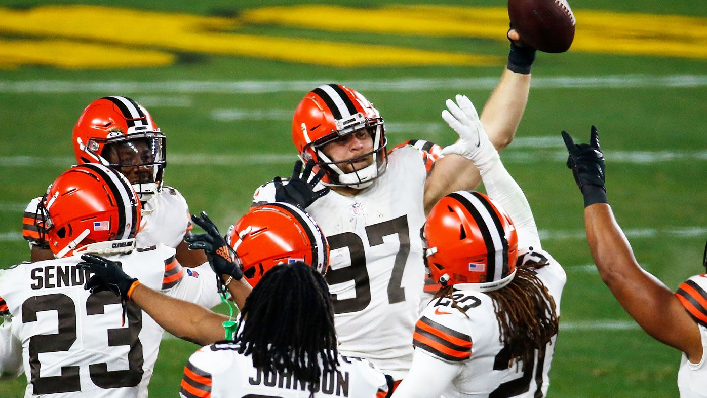 Cleveland Browns secure historic post-season win. (Getty)