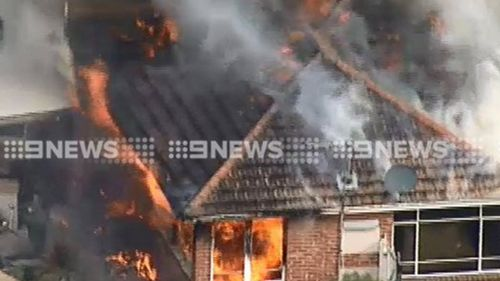 Fire engulfs home in north Melbourne