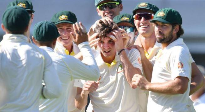 Aussie Richardson's idol '100% a fan' after memorable day against Sri Lanka