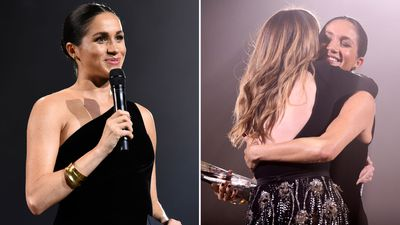 Meghan Markle makes surprise appearance at The Fashion Awards, December 2018