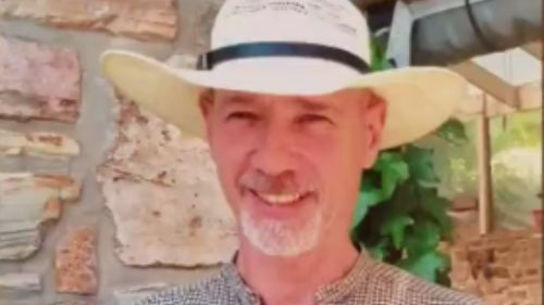 Frank Lawlor was killed by a car in July. (9NEWS)