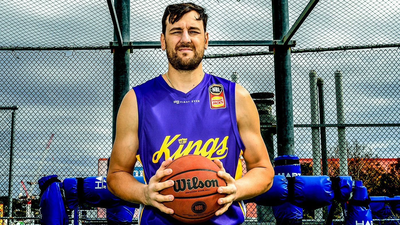 Andrew Bogut in Sydney Kings' 2018-19 season jersey
