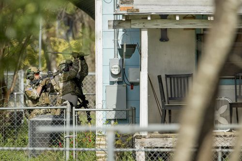 The authorities are trying to find any evidence of further bombs inside Conditt's home. (AAP)