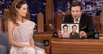 Ryan Reynolds, Kate Beckinsale, lookalike, Jimmy Fallon