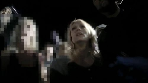 Footage of Stormy Daniels's arrest in Ohio has been released. (Columbus Police)