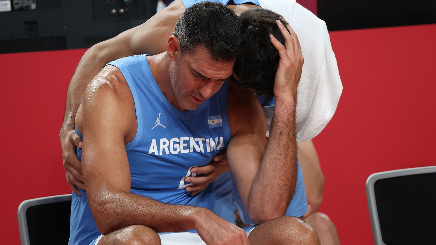Aussie Boomers' incredible act of sportsmanship amid win over Argentina