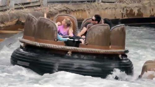 The Thunder River Rapids Ride. (File image)