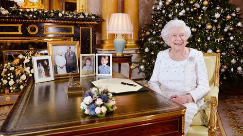 Her Majesty praised Prince Philip, following his stepping back from public life earlier this year. (Supplied)