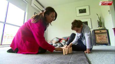 Deborah is now home-schooling her son Jacob.