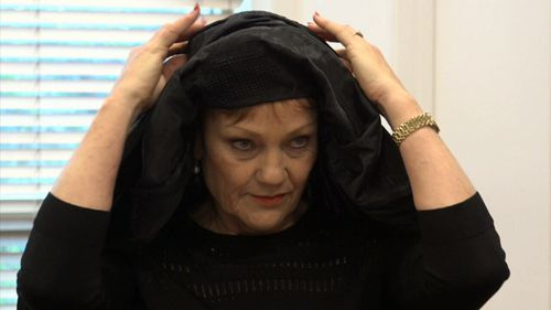 "Senator Hanson said she thought the burqa was ""horrible""."