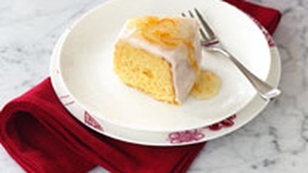 Ruby grapefruit tea cake