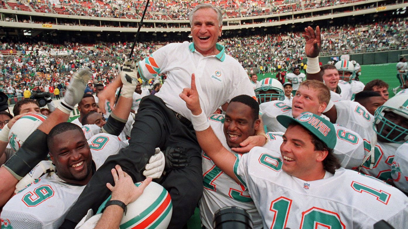 Legendary NFL coach Don Shula dies at 90, oversaw the only unbeaten season