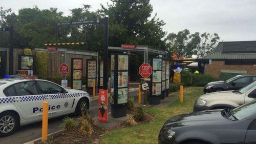 Elderly man dead after crashing car at Adelaide McDonalds drive-through