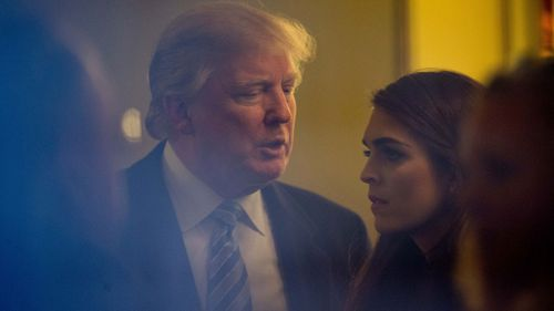 Hope Hicks went from modelling to a job at Ivanka Trump's fashion company to becoming White House Communications Director.