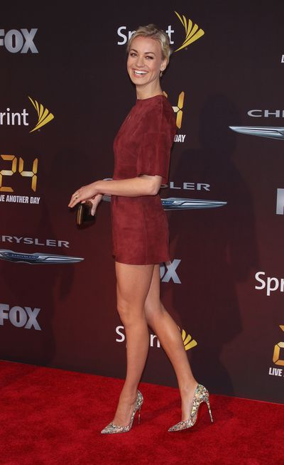 Yvonne Strahovski at the <em>24: Live Another Day&nbsp;</em>&nbsp;premiere in New York City, May 2014