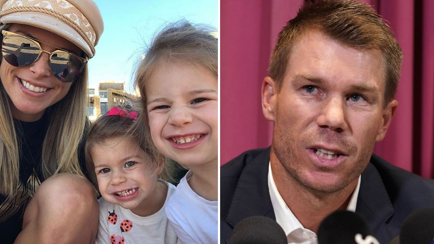David Warner shares heartfelt Mother's Day message thanking his 'rock' Candice