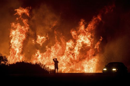 The wildfires burned through a large land mass in December. (AAP)