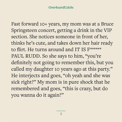 Paul Rudd gesture fan