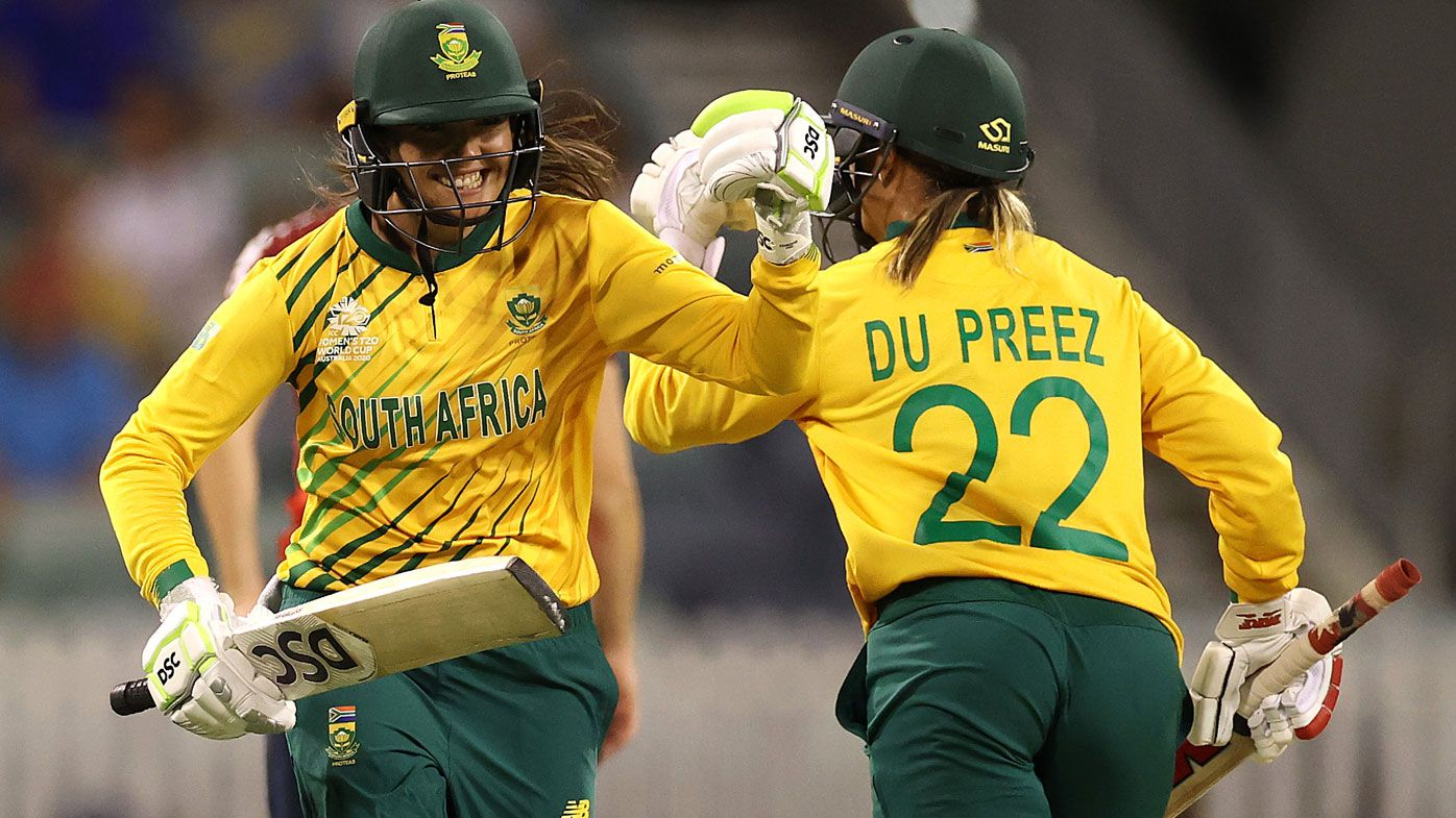 South Africa stun England at T20 World Cup, Mignon du Preez seals thrilling win