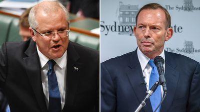 Scott Morrison slams Abbott's calls for immigration cuts