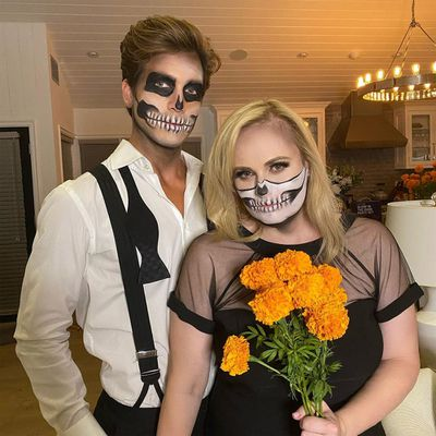 Rebel Wilson and Jacob Busch: October 2020