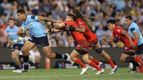 Israel Folau became the most prolific try-scorer in Super Rugby history days before he was sacked by the Waratahs.
