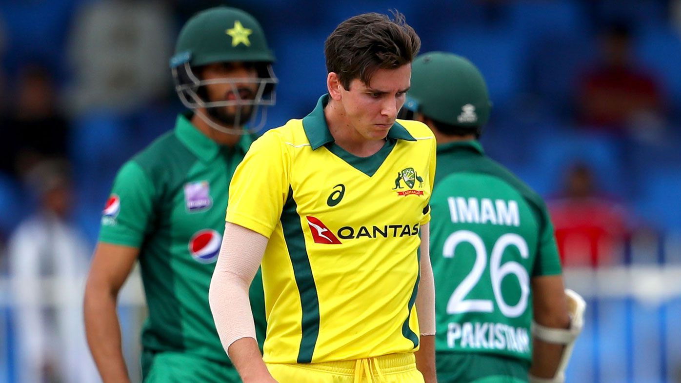 Australian paceman Jhye Richardson dislocates shoulder in second ODI