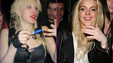 Lindsay Lohan's new sobriety coach: Courtney Love!