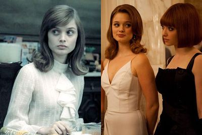Bella has come a long way since her breakout role as Amanda Fowler on <i>Neighbours</i>. Since receiving the Heath Ledger Scholarship in 2010, she's starred in Tim Burton's <i>Dark Shadows</i> (2012) and <i>In Time</i> (2011) alongside Amanda Seyfried.<br/><br/>Left: <i>Dark Shadows</i> / Warner Bros. Right: <i>In Time</i> / 20th Century Fox.