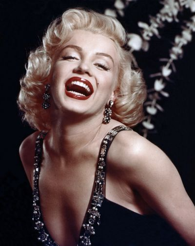 Legendary sex symbol Marilyn Monroe, 1952.