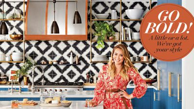 Tour Hilary Duff's vibrant, fun and feminine LA home