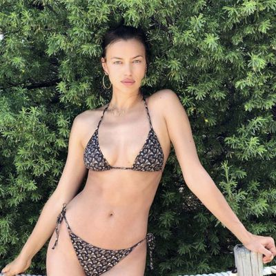 2664143fec83 Irina Shayk reveals perk of supermodel life